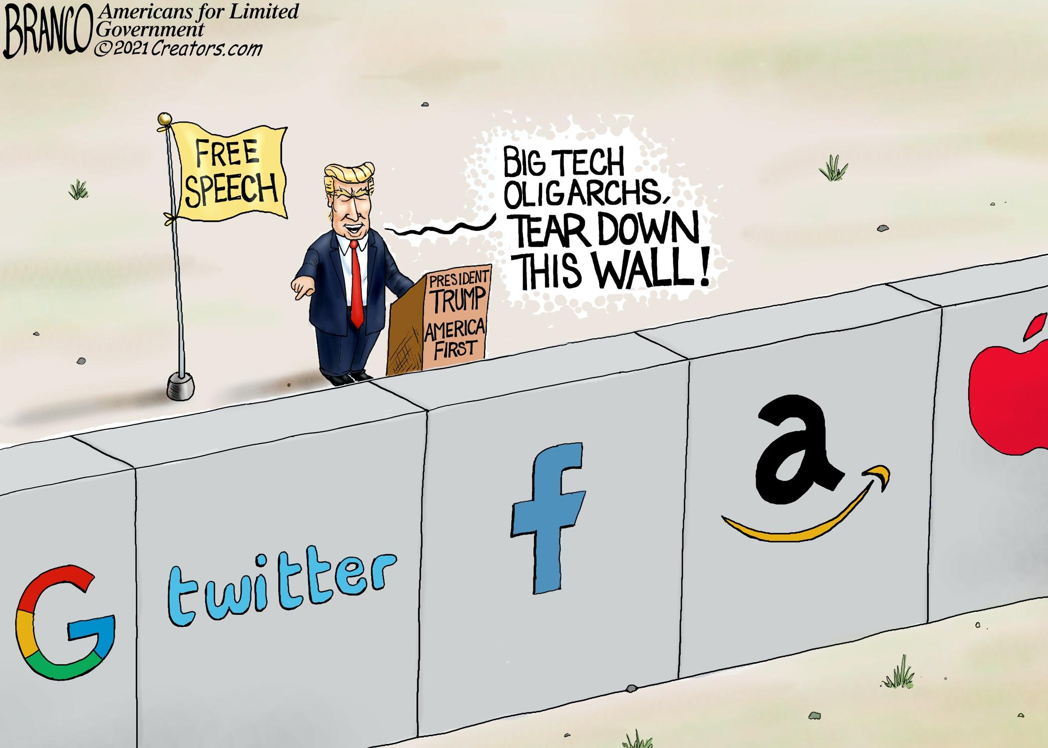 Bipartisan push for Big Tech antitrust legislation still won't solve social media deplatforming